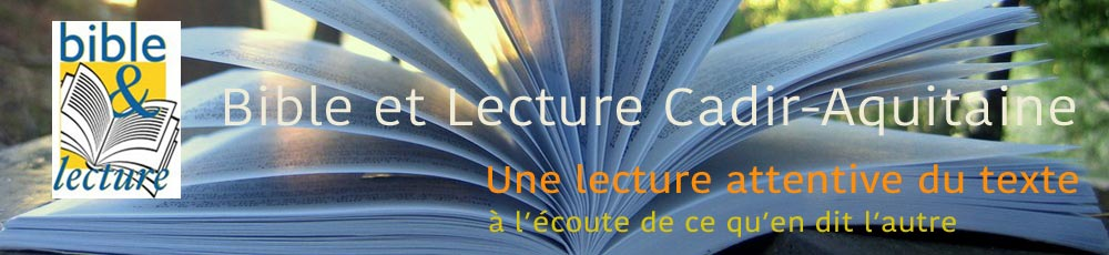 Bible & Lecture Aquitaine
